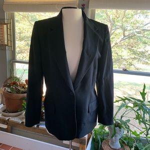 Pendleton black wool blazer